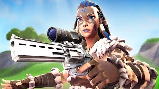 NEW Scoped Revolver and Freya Skin!!
