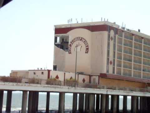 the Flagship Motel Post Hurricane Ike.. Galveston, Tx  Sea Wall Blvd