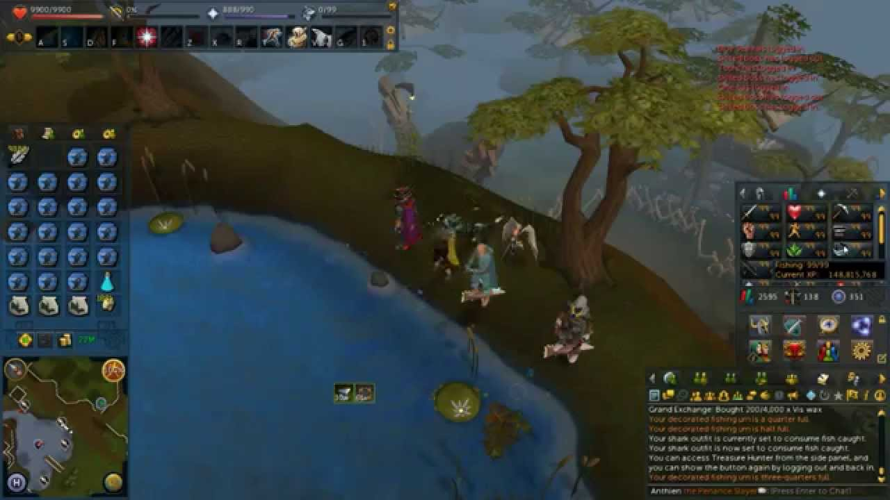 xp hr barbarian fishing pure