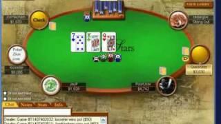 Joe Hachem vs Loosefer 2000NL high stakes online poker PokerStars