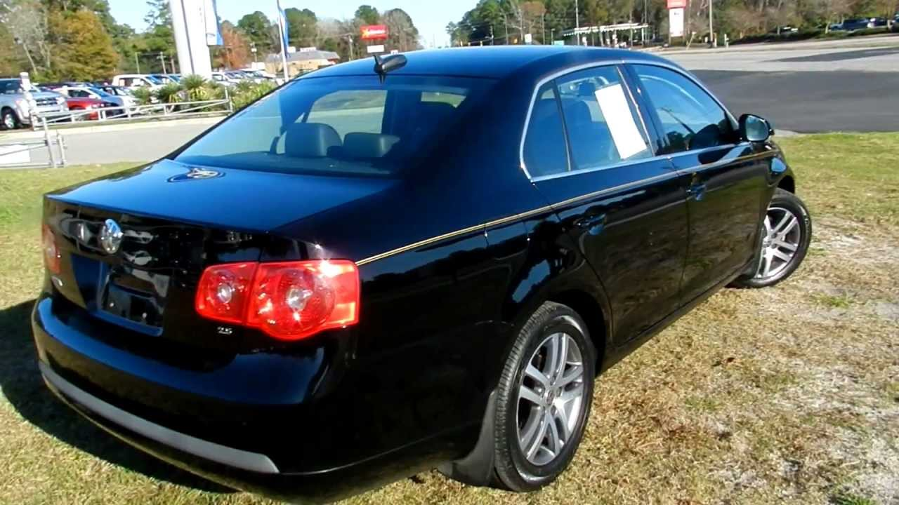 2006 volkswagen jetta 2 5 leather loaded for sale at ravenel ford south carolina youtube. Black Bedroom Furniture Sets. Home Design Ideas