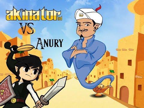¡Anury vs Akinator!
