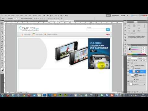 Photoshop Ile Web Sitesi Tasarımı - I