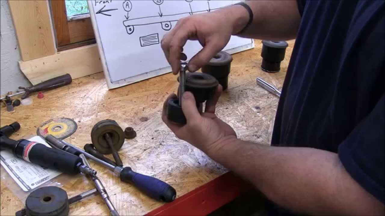 medium resolution of how to replace frame bushings on a 2001 ford explorer sport trac