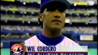 Montreal Expos 1994 Players at All-star Game