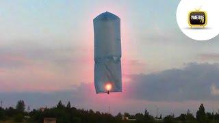 видео Небесный фонарик желаний