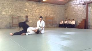 anna gallagher s ikkyu test at the aikido center of atlanta 11 22 14