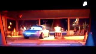 Cars Driving Backwards scene reversed