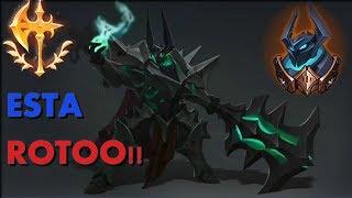 ESTA RUNA ESTA ROTAA!! - MORDEKAISER TOP - League Of Legends