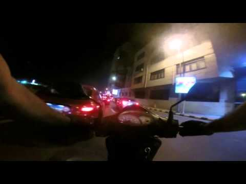 Scooter Riding using GoPro Hero3+ camera in Alexandria, Egypt