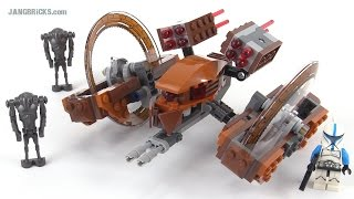 LEGO Star Wars Hailfire Droid review! set 75085