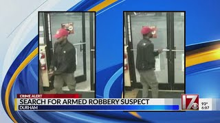 Durham Police Looking For Robbery Suspect