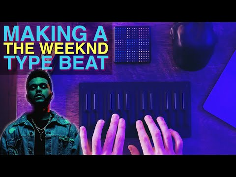 Making A THE WEEKND Type Beat With The Seaboard Block And Lightpad Block M