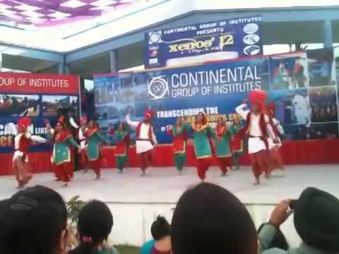 CIIS Bhangra .. CGI tech fest 2011