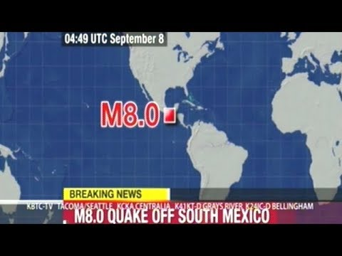 TSUNAMI WARNING ISSUED FOR MEXICO'S SOUTHERN PACIFIC COAST AND PARTS OF GUATEMALA!