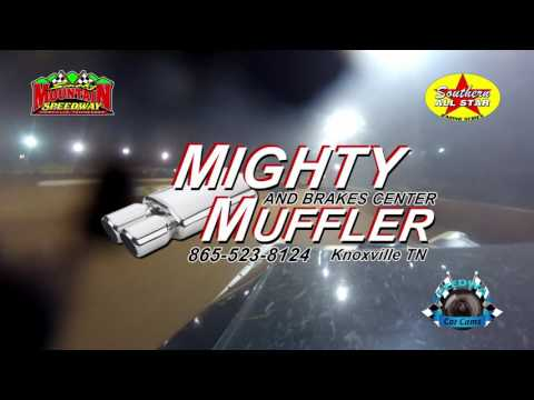 #50 Shanon Buckingham - Super Late Model - 4-29-17 Smoky Mountain Speedway - In-Car Camera
