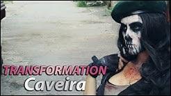 Caveira cosplay transformation! [Rainbow Six Siege]