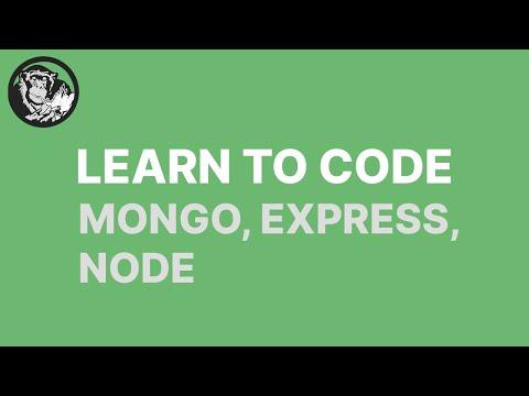 building a social network using node, express, and mongo