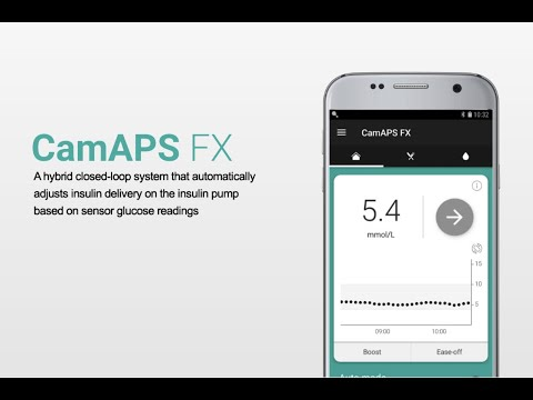 Webinar 1: introducing the CamAPS FX closed-loop insulin delivery system.