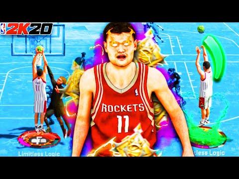 "LEGEND 99 OVR 7'6"" YAO MING COMPLETELY BREAKS NBA 2K20!! Best Center Build At The Park!"