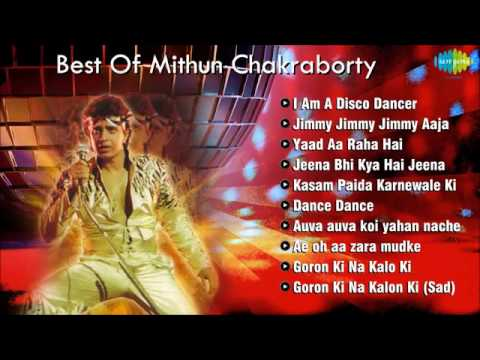 Best Of Mithun Chakraborty   Disco Dancer   Popular Bollywood Songs   Dance Songs