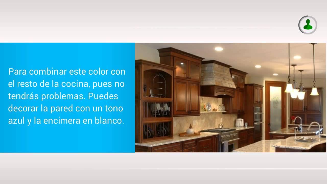 Ideas para la Decoración de Cocinas Color Chocolate - YouTube