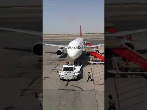 Air Arabic A320 Ready to pushback departure kuwait International Airport Timelapse ❤️💕🇰🇼🥰😘