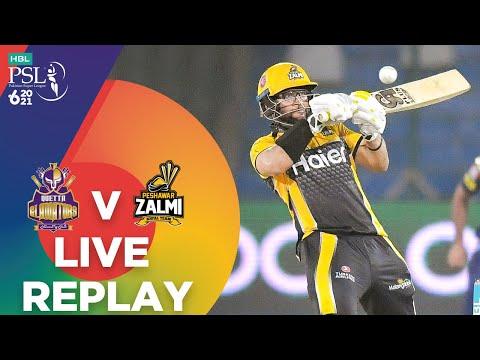 LIVE REPLAY – Quetta Gladiators vs Peshawar Zalmi | Match 8 | HBL PSL 6