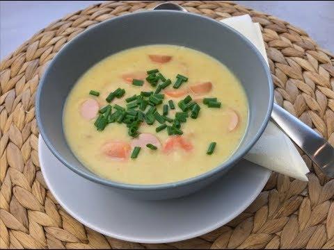 Thermomix Tm 5 Leckere Kartoffelsuppe Mit Karotten Wienerle