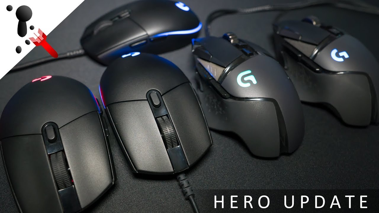 Quick Update for the Logitech G PRO Hero and G502 Hero