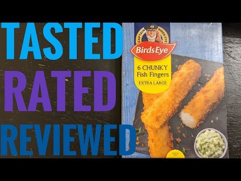 Birds Eye Chunky Fish Fingers Tasted Rated And Review
