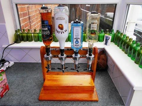Portable booze dispenser