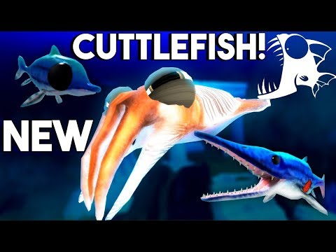 Feed and Grow Fish - NEW SEA MONSTER CUTTLEFISH, BABY ICHTHYOSAURUS SURVIVAL - Update Gameplay