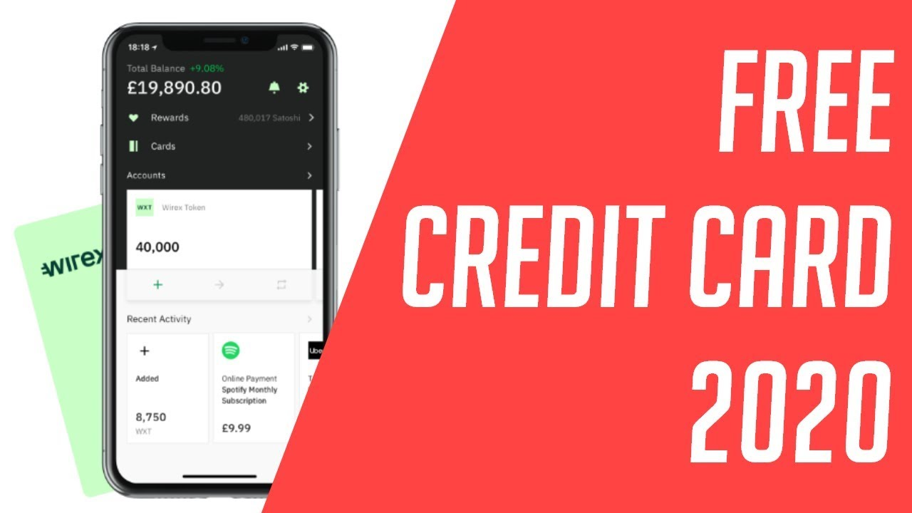 Get Free Credit Card 2020 valid (Accepts Cryptocurrency