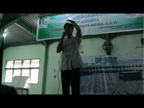 Baca Puisi. Ahmad Jaelani Sang Penyair Pecinta Surga.MPG