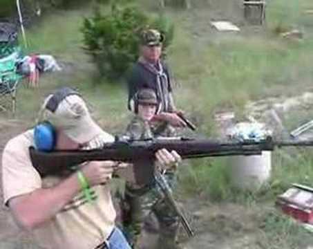 BM 59 firing