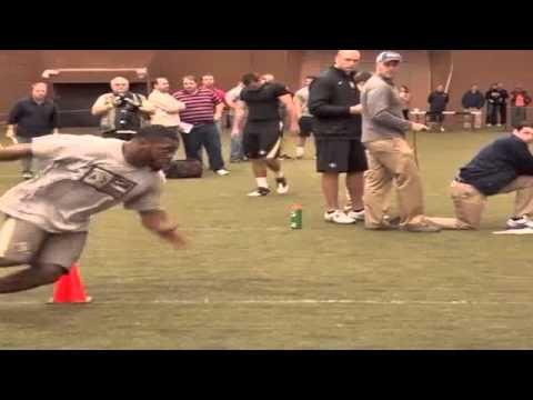 Evan Harrington NFL Pro Day
