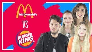 #13 Burger King vs McDonald's - Danla Bilic, Tatlıcı, Cansu Yeğin, Melodi Elbirliler