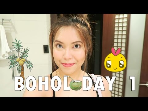 BOHOL DAY 1 (Flight to Tagbilaran, HOTEL ROOM TOUR!) - saytioco