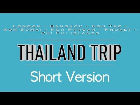 Thailand Travel Trip ✈ GoPro 2.7k ✈ Bangkok, Koh Tao, Ko Samui, Phangan, Phuket, Maya Bay, Phi Phi