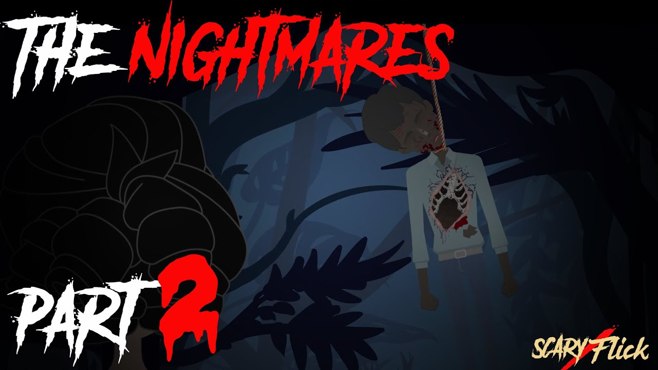 The Nightmares Part 2 I Scary Animated Horror Story In Hindi I Scary Flick E75