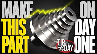 Make This Part On Day One – Haas Automation Tip of the Day