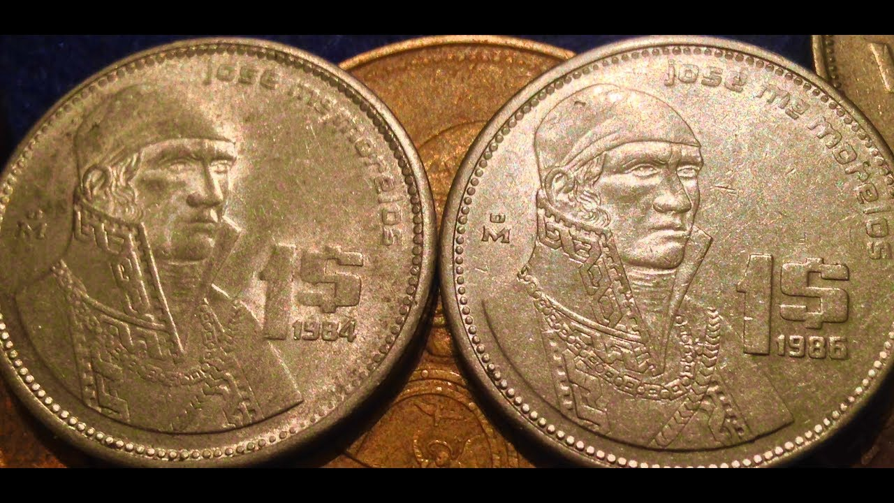 25 Cent To 1 000 Peso Coins Of Mexico Look For