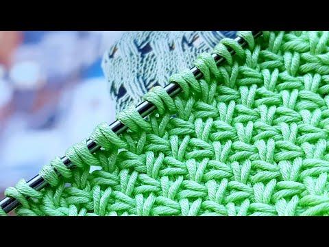 Плетёный узор спицами🌹🌹🌹🕷