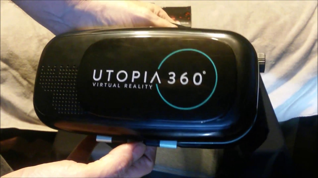 ReTrak Utopia 360 Virtual Reality 3D Headset Unboxing and Review