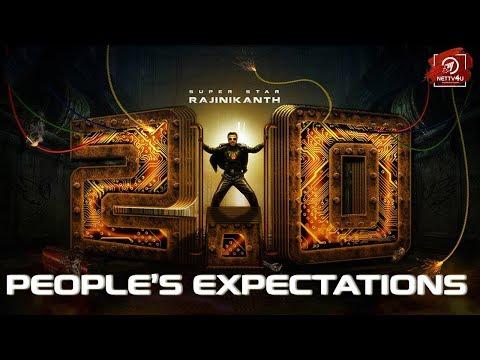 2.0 Movie People's Expectations   Rajinikanth   Akshay Kumar   Amy Jackson   Shankar   ARR
