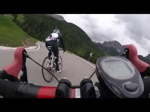 Sellaronda bike day 2016 - discesa passo campolongo - corvara