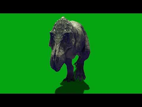 Gorgosaurus Albertosaurus Tarbosaurus Coelurosauria Theropoda Green Screen Jurassic World