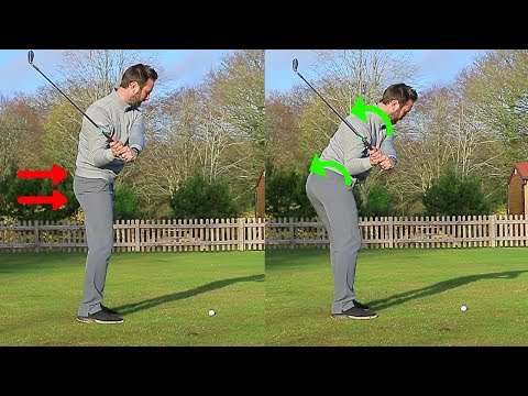 HOW TO STOP AN EARLY HIP EXTENSION IN THE GOLF SWING