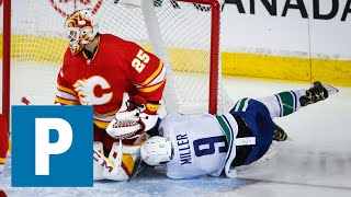 J.T. Miller reflects on the season after 6-2 loss to Calgary Flames   The Province